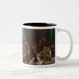 Interior of a Tavern Two-Tone Coffee Mug