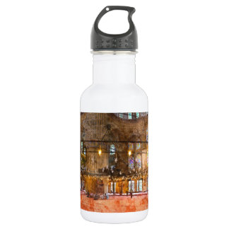 Interior of Blue Mosque in Istanbul Turkey 532 Ml Water Bottle