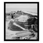 Interior of Fort Sumter with Gabions 1865 Poster