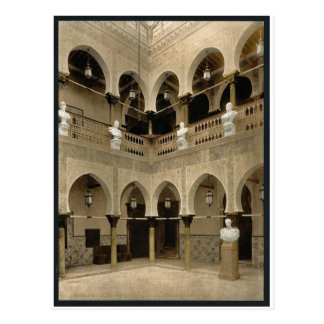 Interior of governor's palace, Algiers, Algeria vi Postcard