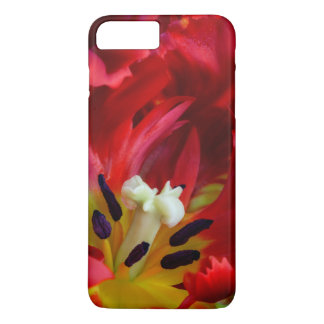 Interior of parrot tulip flower iPhone 7 plus case