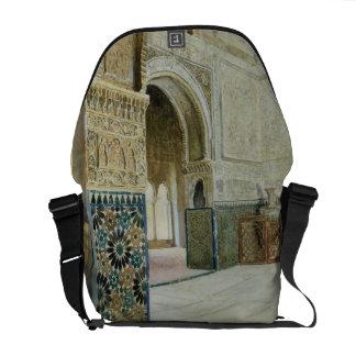 Interior of the Alhambra, Granada (w/c) Commuter Bags