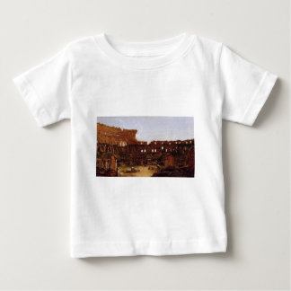 Interior of the Colosseum, Rome by Thomas Cole Baby T-Shirt