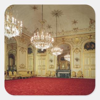 Interior of the Grand Salon Square Sticker