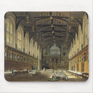 Interior of the Hall of Christ Church, illustratio Mouse Pad