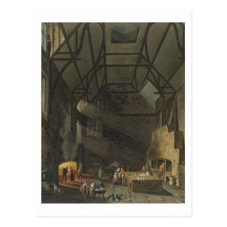 Interior of the Kitchen, Trinity Cambridg Postcard