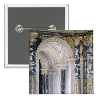 Interior of the Kunsthistorisches Museum 2 Inch Square Button