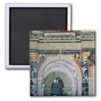 Interior of the Kunsthistorisches Museum Square Magnet