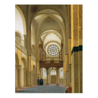 Interior of the Marienkirche in Utrecht, 1638 Postcard