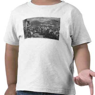 Interior of the Paris post office Tee Shirts