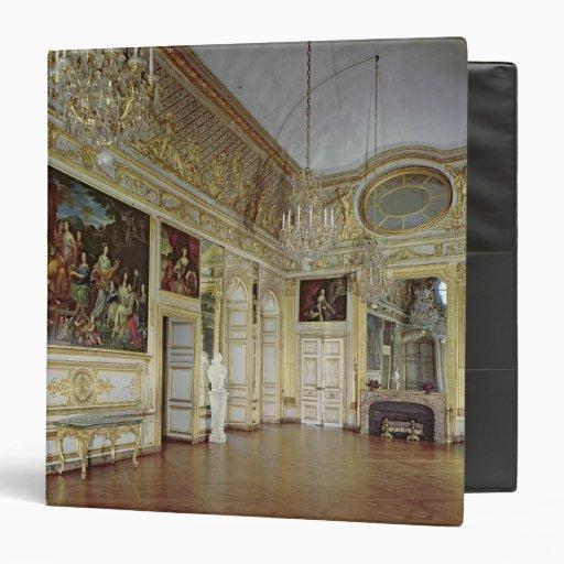 Interior of the Salon de l'Oeil de Boeuf 3 Ring Binder