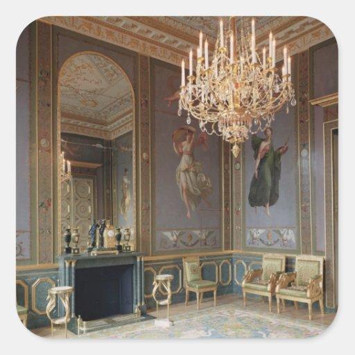 Interior of the Salon de Musique Stickers