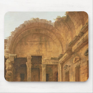 Interior of the Temple of Diana at Nimes, 1787 Mouse Pad
