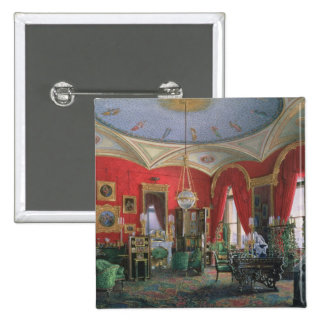 Interior of the Winter Palace 2 Inch Square Button