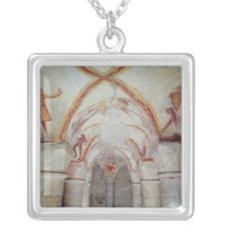 Interior Silver Plated Necklace
