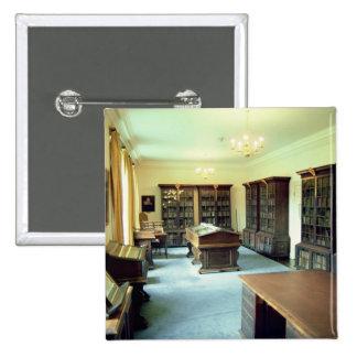 Interior view 2 inch square button