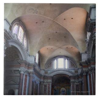 Interior view of Santa Maria degli Angeli in Ceramic Tiles