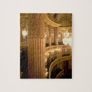Interior view of the Opera House looking towards t Jigsaw Puzzle