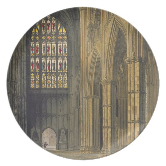 Interior View of Westminster Abbey Looking Towards Plate
