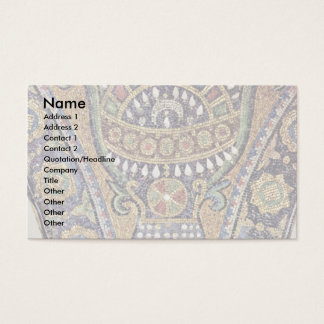 Interior Walls Of The Rock In Jerusalem Scene Vase Business Card