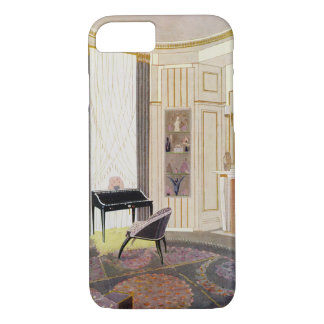 Interior with furniture designed by Ruhlmann, from iPhone 7 Case