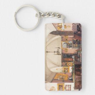 Interiors Winter Palace Ukhtomsky Konstantin paint Double-Sided Rectangular Acrylic Keychain
