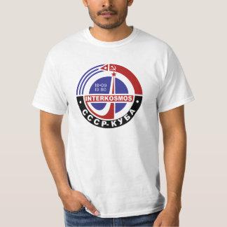 INTERKOSMOS Интеркосмос 80s Soviet Space Program T-Shirt