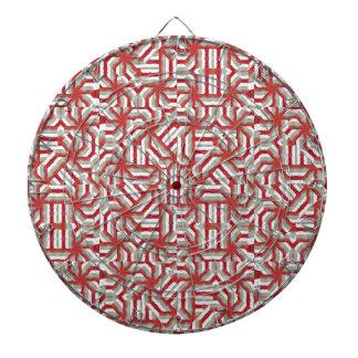 Interlace Tribal Dartboard With Darts