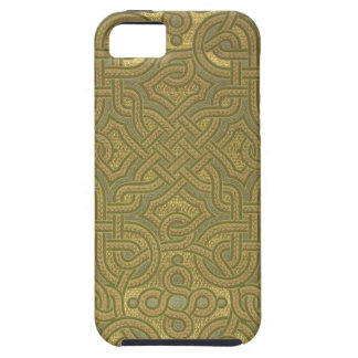 Interlaced metallic wallpaper, 1880-1890 iPhone 5 case