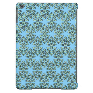 INTERLACED PATTERN in Blue ~ Case For iPad Air