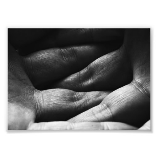 Interlocked Fingers Photo Print