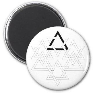 Interlocks 2 Inch Round Magnet