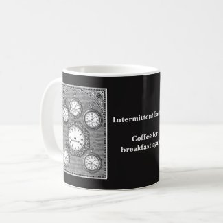 Intermittent Fasting Clock Mug