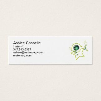 Intern B-Card Mini Business Card