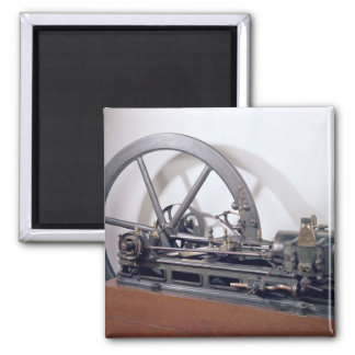 Internal combustion engine square magnet