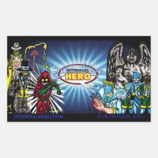 Internal Hero Character Banner sticker
