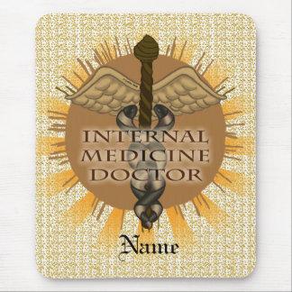 Internal Medicine M.D. custom name mouse pad