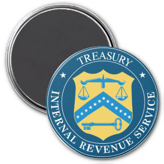 Internal Revenue Service IRS Magnet