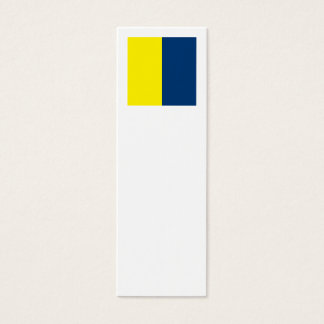 International Alphabet Flags K Mini Business Card