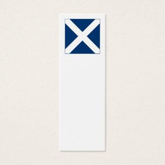 International Alphabet Flags M Mini Business Card