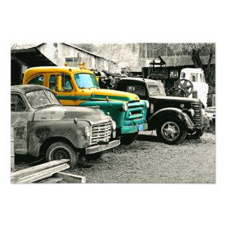 International AS160 wreck Photo Print