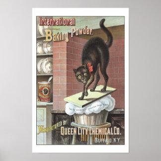 International Baking Powder, 1885. Vintage Photo Poster