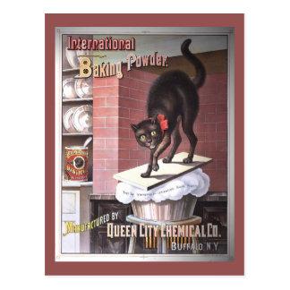 International Baking Powder Vintage Advertising Postcard