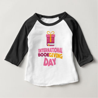 International Book Giving Day - 14th February Baby T-Shirt