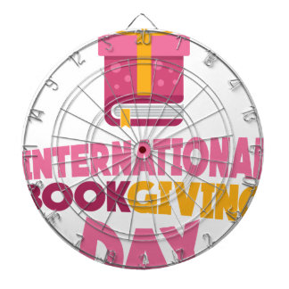 International Book Giving Day - 14th February Dartboard