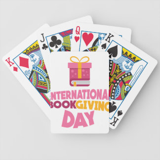 International Book Giving Day - 14th February Poker Deck