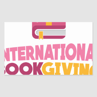 International Book Giving Day - 14th February Sticker