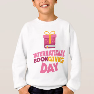 International Book Giving Day - 14th February Sweatshirt