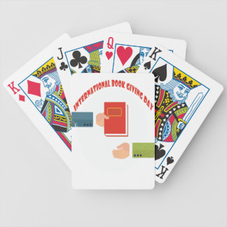 International Book Giving Day - Appreciation Day Bicycle Playing Cards