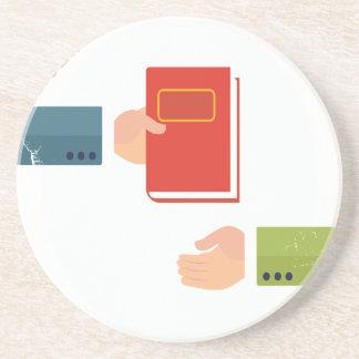 International Book Giving Day - Appreciation Day Coaster